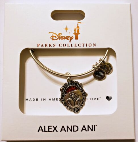 Disney Parks ALEX /& ANI bracelet Cruella de Vil silver tone Deville villain NEW