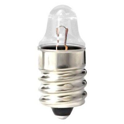E10 Miniature Lamp Screw Base Light Bulb Socket with 6 Volt Lamp Used