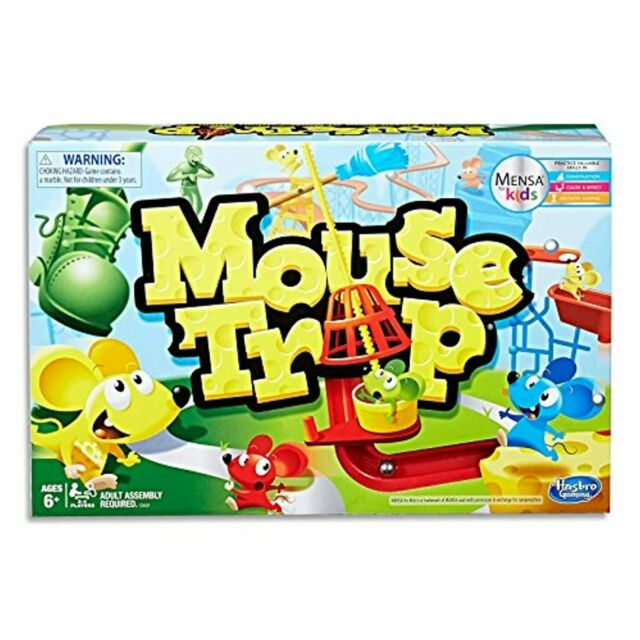 Mouse Trap - Mensa for Kids - 2 to 4 Players - Kids Educational Board Games