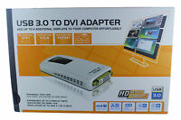 Usb 3.0 Video Card To Dvi Hdmi Vga Output Supports 1080p & 2048x1152 For Pc Lcd