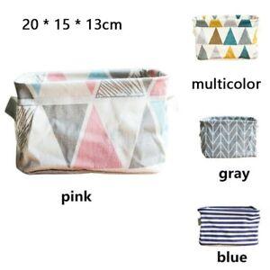 Foldable-Desktop-Storage-Bin-Closet-Box-Cosmetic-Makeup-Organizer-Fabric-Basket