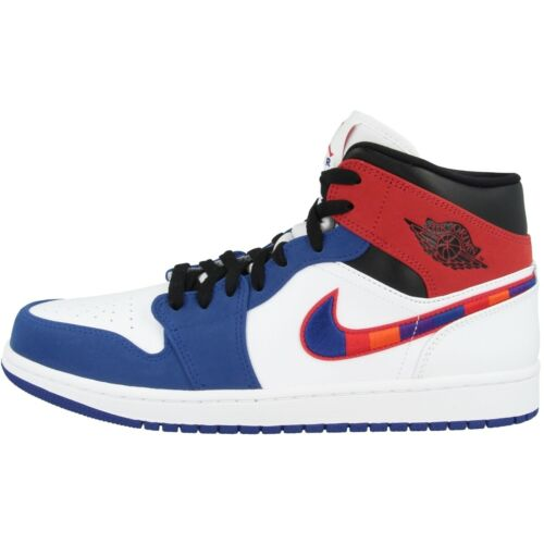 Nike Air Jordan 1 MID SE Schuhe Basketball High Top Sneaker white 852542-146