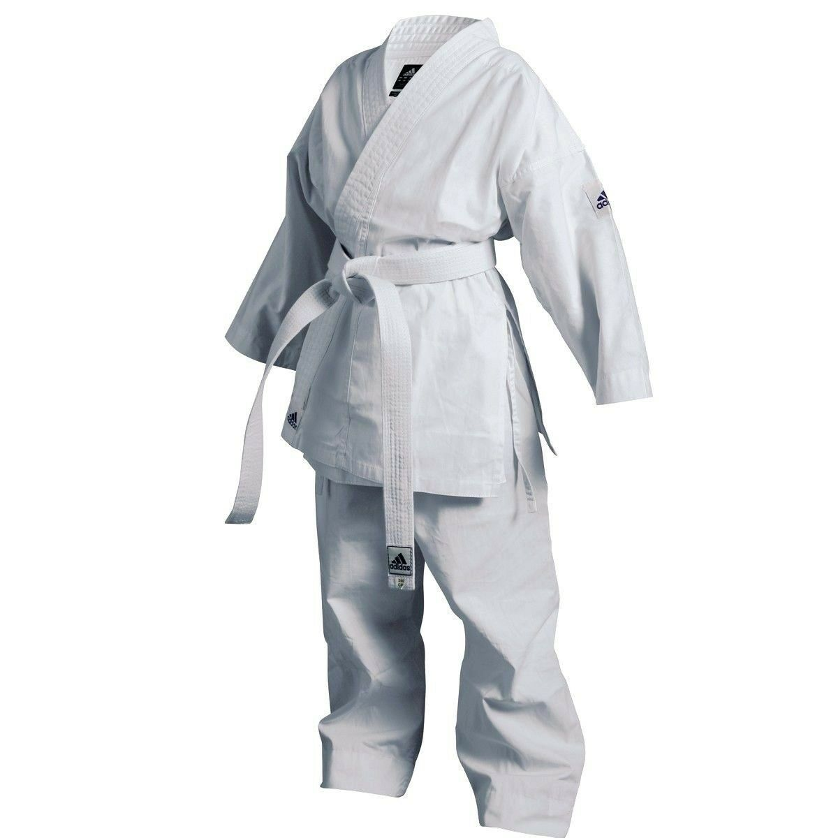 Adidas  Karate Training Uniform Student Gi with belt  100% authentic