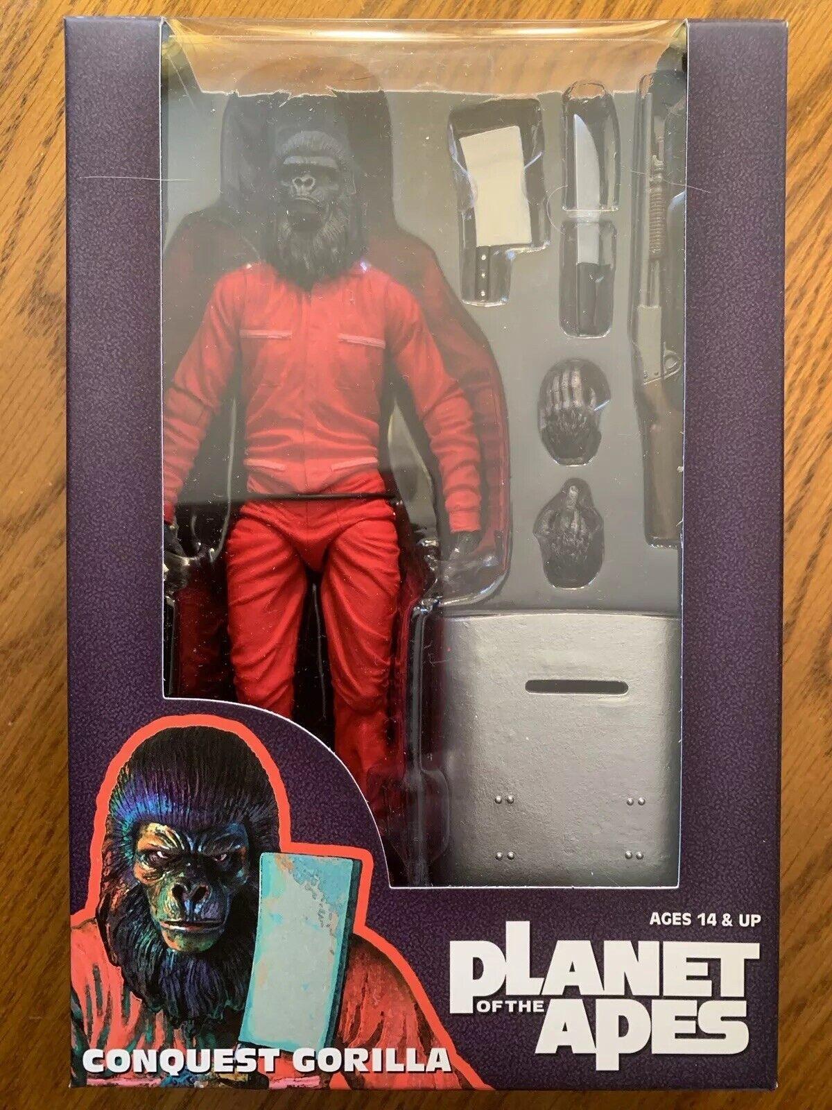 NECA Planeta De Los Simios Classic conquista Gorila San Diego comic-con 2015 Exclusivo