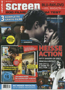 Screen Magazine Germany 2015-02 Keanu Reeves Fifty Shades Of Grey