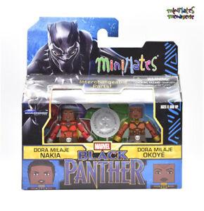Marvel-Minimates-TRU-Toys-R-Us-Black-Panther-Movie-Dora-Milaje-Nakia-amp-Okoye