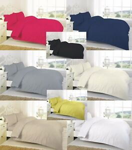 Luxury 100/% Egyptian Cotton Fitted Sheets Flat Sheet 200TC Single Double King