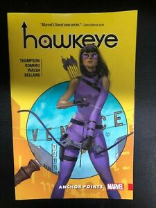 HAWKEYE-volume-one-Anchor-Points-2017-Marvel-Comics-TPB-FINE-1st