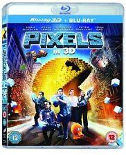PIXELS - 3D BLU RAY - NEW / SEALED - UK STOCK