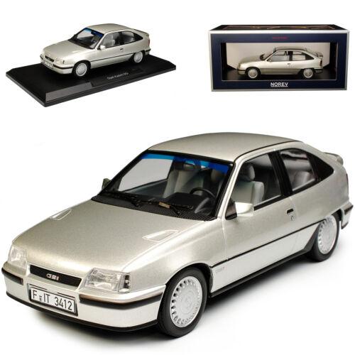 Opel Kadett E GSI Silber 3 Türer 1984-1991 1//18 Norev Modell Auto mit oder ohn..