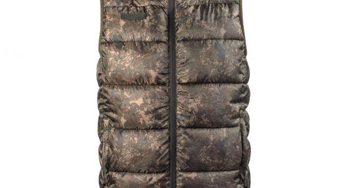 Nash ZT Camo Body Warmer All Sizes NEW Carp Fishing Clothing