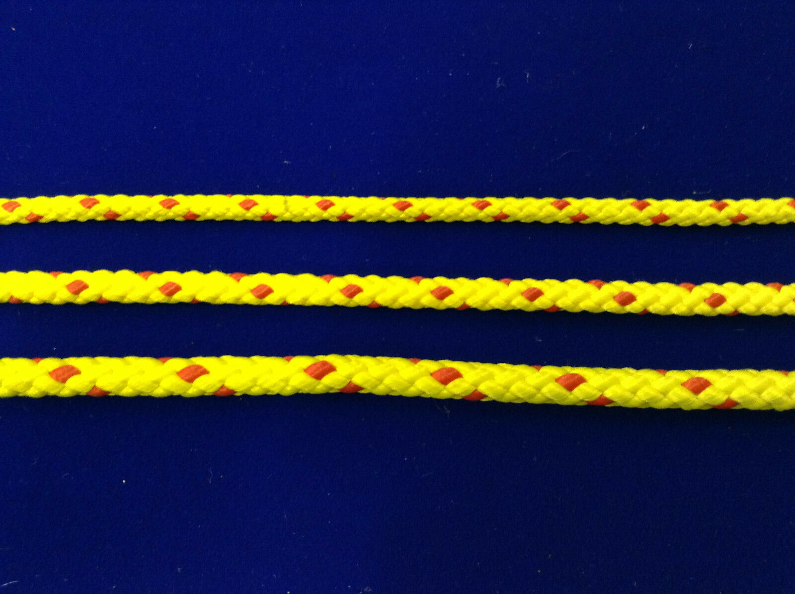Yellow & Red floating safety life line buoy line rope 6mm 8mm 10mm diameter