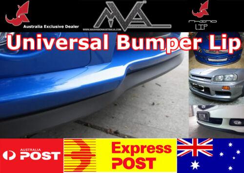 Universal Canard Under Spoiler Chin Lip Flex USA Rubber  ~NO TAPE~