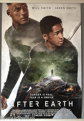 Cinema Poster After Earth 2013 One Sh Jaden Smith Will Smith Sophie Okonedo Ebay