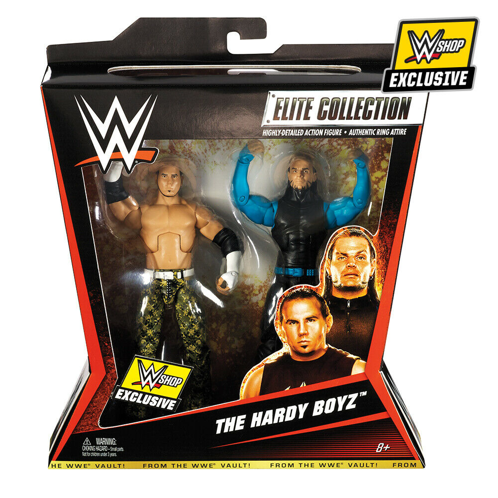 WWE ELITE Exclusive HARDY BOYZ Box Set Mattel Action Figures  New & Sealed