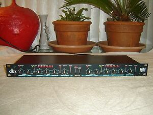 DBX-166A-2-Channel-Compressor-Limiter-Expander-Gate-Vintage-Rack-As-Is-Repair
