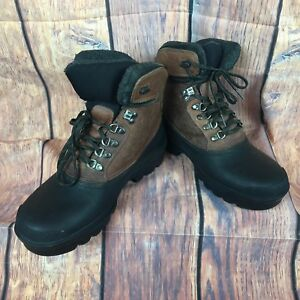 f3d9375dd01 Donner Mountain Boots Men's leather upper 11M hiking Trails Walking ...