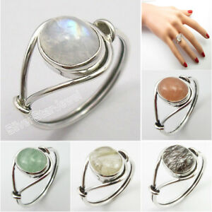 Rainbow-Moonstone-tcw-2-7-Women-Ring-Any-Size-925-Silver-Natural-Stone-Jewelry