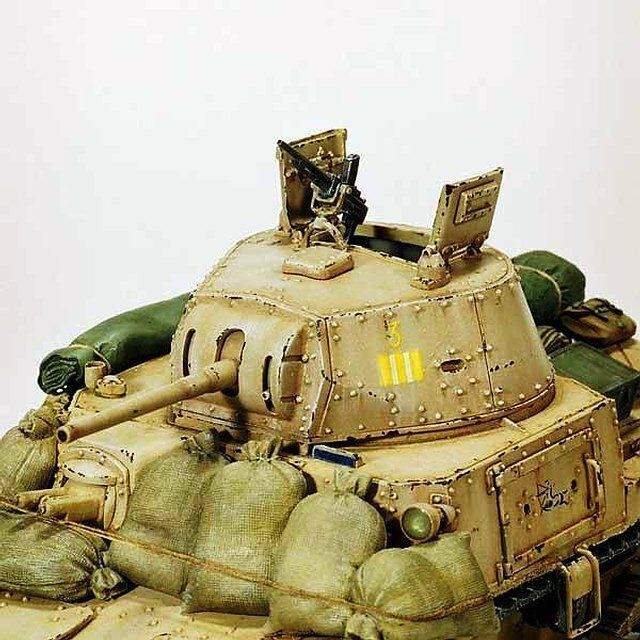 Model Victoria 1 35 Turret for M13 40 or M14 41 Chassis Italian Tanks 4072