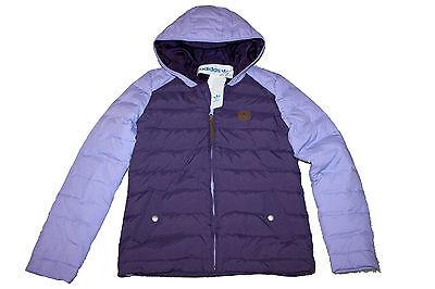 AUTH Adidas Originals Women Purple Hib Down Jacket