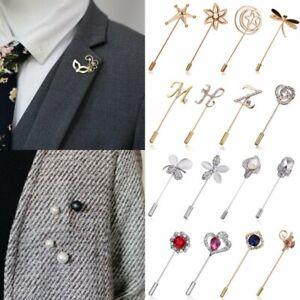 Women-Men-Crystal-Pearl-Flower-Rhinestone-Brooch-Pin-Collar-Suit-Party-Jewelry