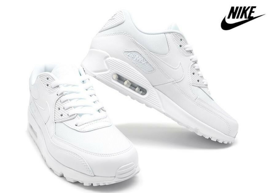 NIKE Uomo Air Max 90 Essential Running scarpe bianca and and and nero 2 Colorees ff7095