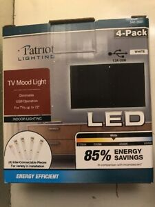 4-5V-18-Inch-USB-Cable-Power-LED-Strip-TV-Light-Tape-White-Background-Mood
