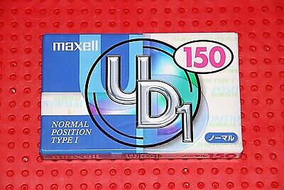 IV   NEW VERSION      BLANK CASSETTE  TAPE MAXELL UD  10  VS 1 SEALED