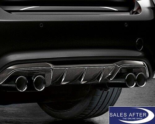 Original BMW F87 M2 Satz Auspuffblende schwarzchrom Endrohrblende schwarz black
