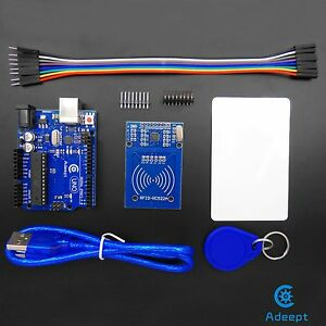 Adeept-Arduino-UNO-R3-with-RC522-RFID-Reader-Kit-user-manual-for-Arduino-UNO-R3