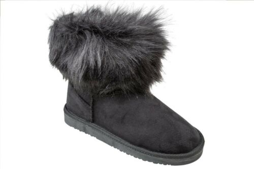 Damen Stiefeletten warm gefütterte Winter Stiefel Boots Schlupfstiefel Gr.36-41