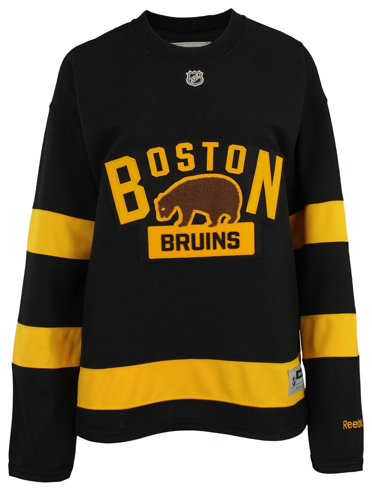 Reebok Boston Bruins NHL Women's Alternate Premier Jersey, Black