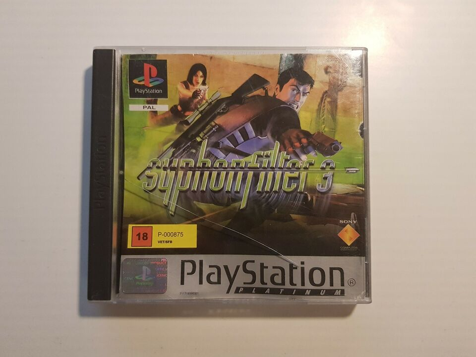 Syphon Filter 3, PS