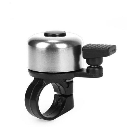 Safety Cycling Bicycle Bike Handlebar Metal Ring Black Bell Ring Sound Alarm