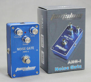 ang noise gate guitar effect pedal true bypass super low power consumption new ebay. Black Bedroom Furniture Sets. Home Design Ideas