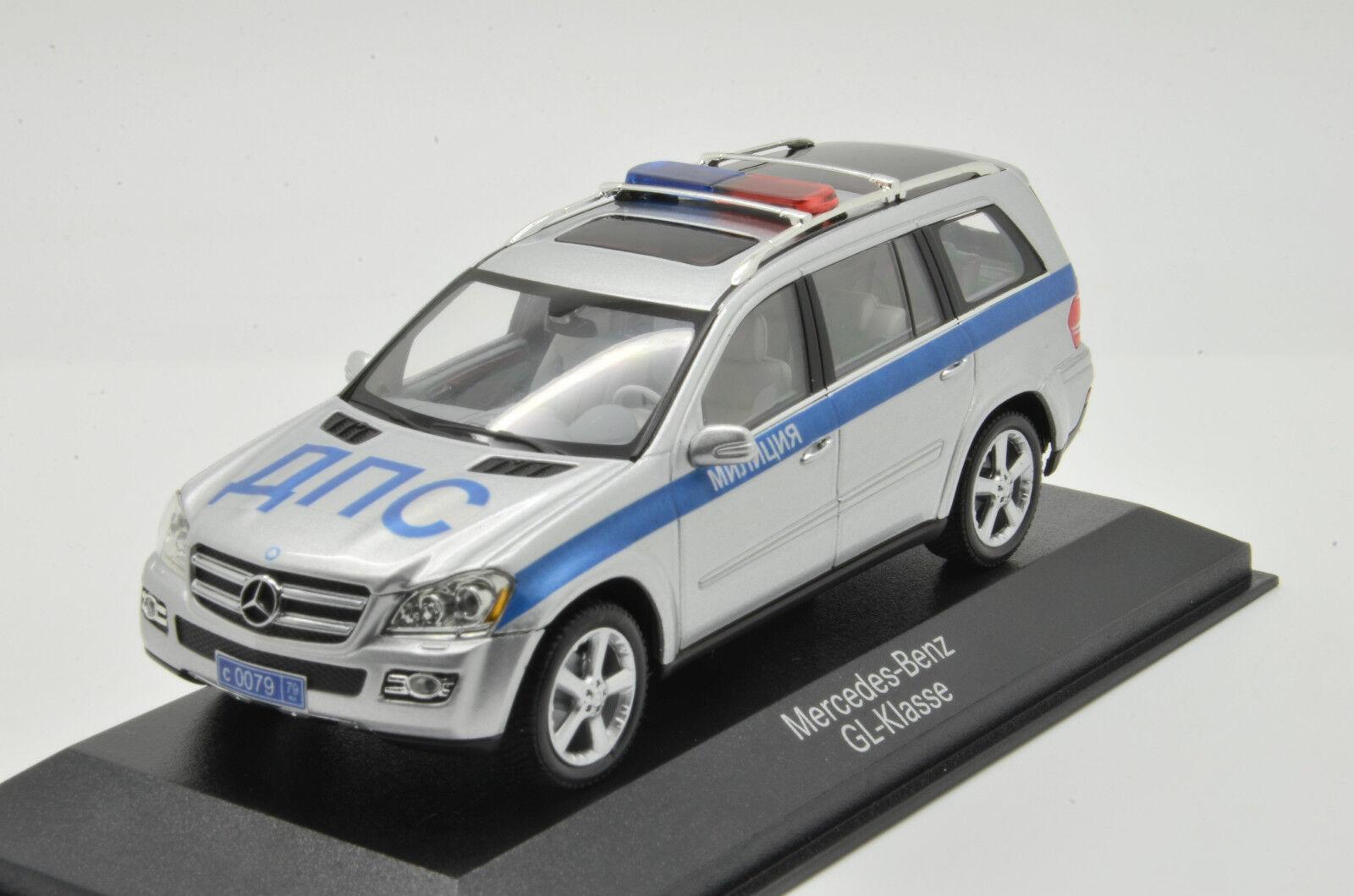 Rara Mercedes Linterna verde La policía rusa Jeep 1 43 minichmaps