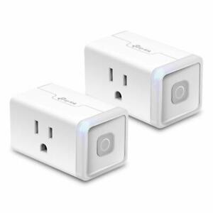 TP-Link-Kasa-Smart-2-pack-Wi-Fi-Plug-Lite-12-Amp-w-Google-Home-Alexa-HS103P2