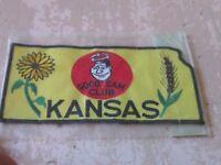 Oversize Good Sam Club Ks Kansas State Nip Patch Emblem Sunflower Wheat