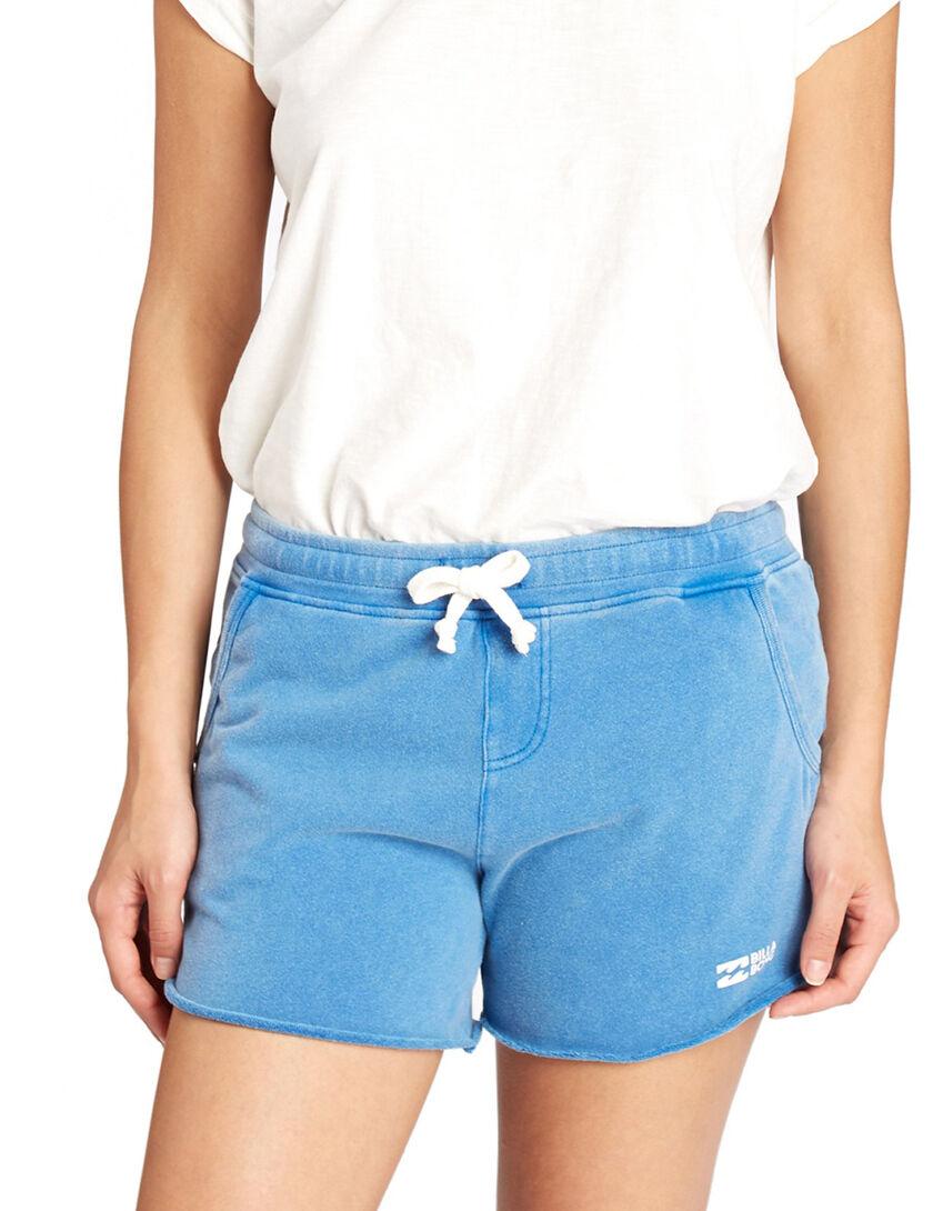Billabong Essential Sweat Shorts in Costa bluee