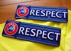 EUROPA LEAGUE RESPECT PATCH BADGES SLEEVE SHIRT FOOTBALL