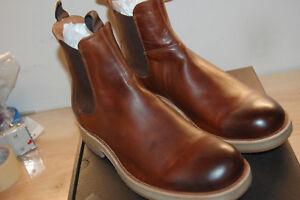 hombre 358 M botas grano completo Nu Frye para Rainer 5 Cognac de italiano cuero Chelsea de 9 axE4UxqO