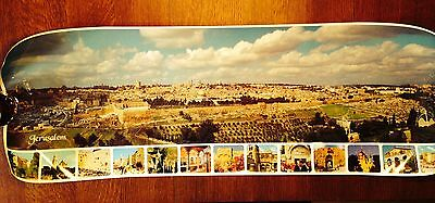 Jerusalem Panoramic Photo / Poster- Lg size- from The Mt of Olives
