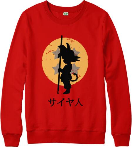 Dragon Ball Z Sweatshirt Goku Jumper Looking for the Dragon Balls Fancy Top