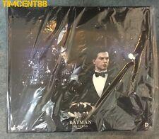 Ready! Hot Toys Batman Returns Batman Bruce Wayne Michael Keaton 1/6 Combo set