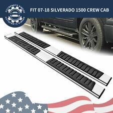 Nerf Bar Side Step Running Board for 07-18 Silverado/Sierra 1500 2500HD Crew Cab