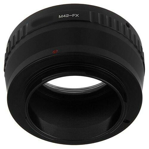 Fujifilm Fx Objective Adapter M42 Lens On Fujifilm Fx Camera M42