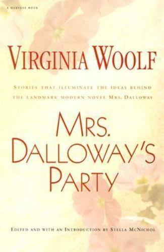 Mrs. Dalloway's Party: A Short-Story Sequence-ExLibrary