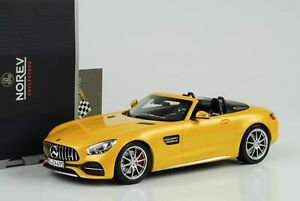 2017 Mercedes-benz Amg Gt C Roadster Rayon Solaire 1:18 Norev 183451
