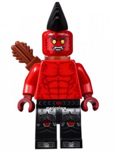 LEGO NEXO KNIGHTS 70312 FLAME THROWER miniifigure NEW D1