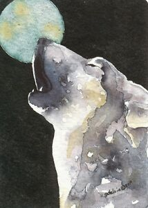 Details about ACEO Giclee PRINT watercolor 2 5